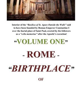 Rome Birthplace of Christianity VL1