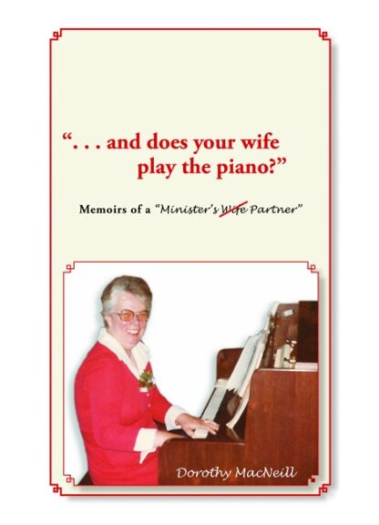Memories of a Minister's Wife Partner