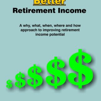 For A Better Retirement Income