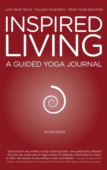 INSPIRED LIVING A GUIDED YOGA JOURNAL