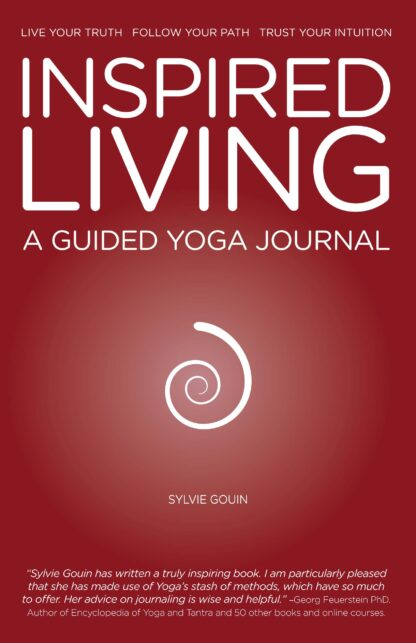 INSPIRED LIVING, A GUIDED YOGA JOURNAL