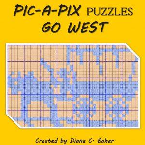 PIC A PIX PUZZLES GO WEST