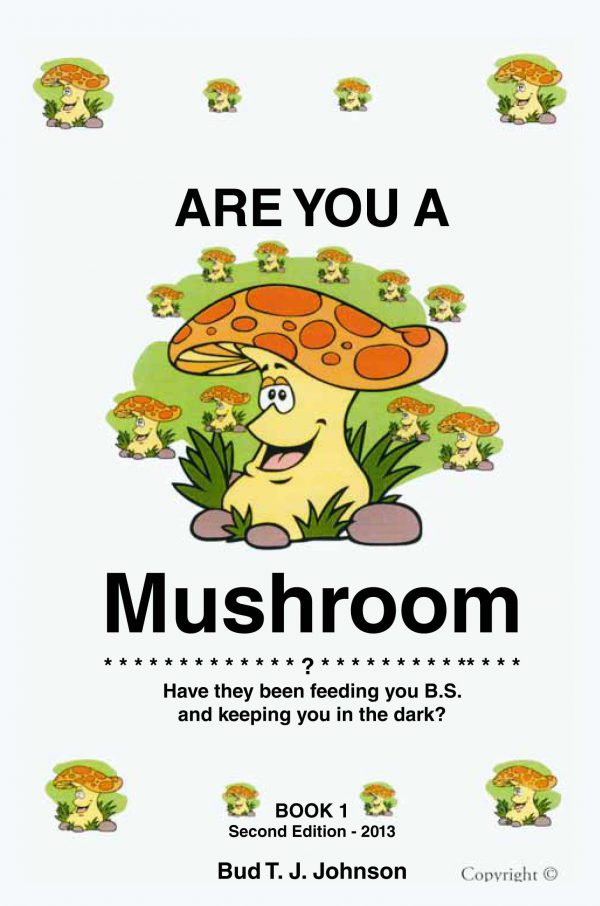 ARE YOU A MUSHROOM Book 1 2nd Edition